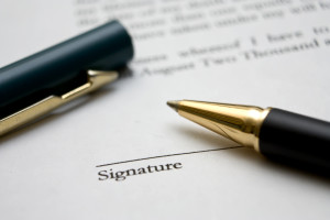 Legal retainer agreement
